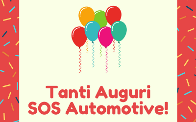 TANTI AUGURI SOS AUTOMOTIVE!