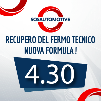 ABBATTI IL COSTO DELLA TUA AUTO DI CORTESIA CON LA FORMULA 4.30!