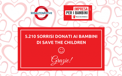 5.210 sorrisi ai bambini di Save The Children!