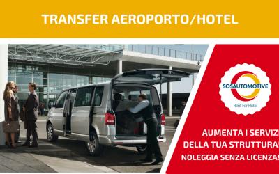 SOS Automotive è anche Rent For Hotel!