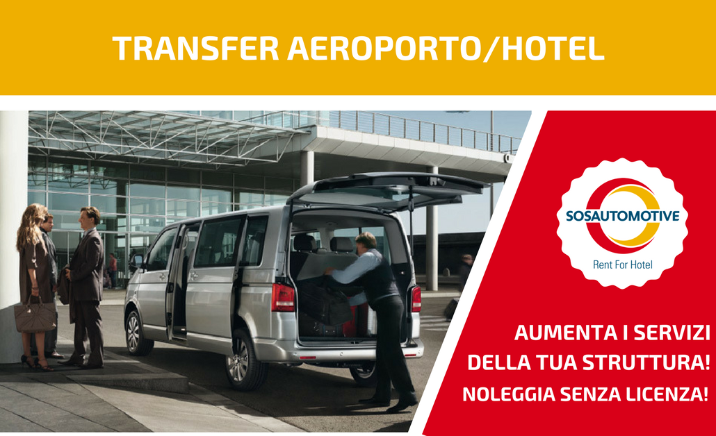 SOS Automotive è anche Rent For Hotel!