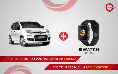 PROMO FIAT PANDA + iWATCH per AUTORIPARATORI!
