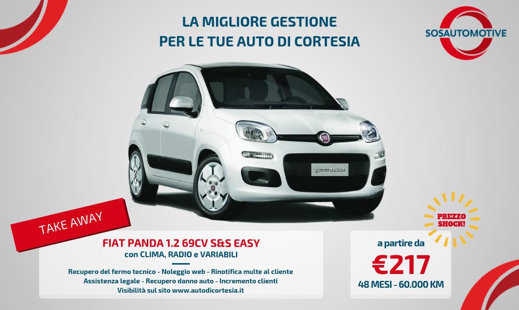PROMO FIAT PANDA EASY per CARROZZERIE e OFFICINE!