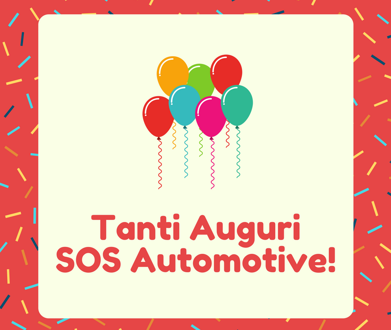 TANTI AUGURI SOS AUTOMOTIVE!