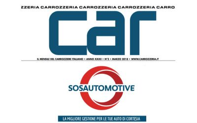 SOS Automotive e l'auto di cortesia: CAR Carrozzeria parla di noi!