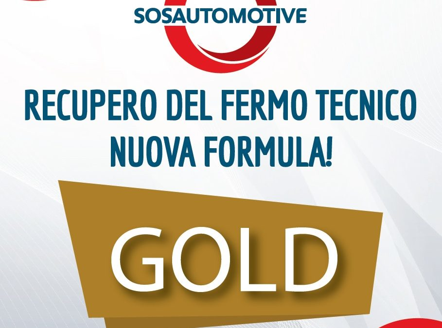 Formula GOLD Per Carrozzerie!